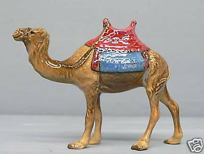 Gorgeous Early Hagen Renaker Nativity Camel w/ Gold Hilites