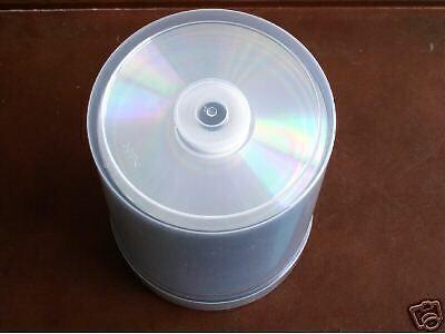 100 PCS NEW TAIYO YUDEN TY CD-R, 80MIN 52X CDR80ZZ10SB