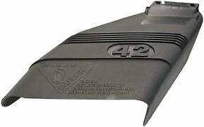 "CRAFTSMAN 42"" GENUINE OEM MOWER DECK DEFLECTOR SHIELD 130968 & POULAN HUSQVARNA"