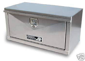 Underbody Tool box Semi Truck Flatbed Trailer 48x24x24