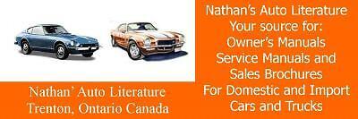 Nathan's Auto Literature