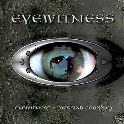 Eyewitness / Messiah Complex Double CD Rock Digipak Ralph Santolla / Todd Plant